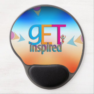 Get Inspired Gel Mouse Pad