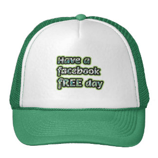 Get Inspired ~ Have a facebook Free day Trucker Hat