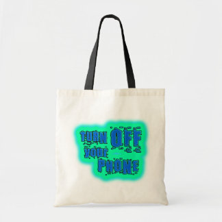 Get Inspired ~ Turn off your phone Tote Bag