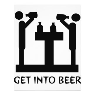 get into beer icon flyer