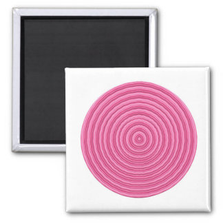 Get into my Pink Circle - Artist Created Pallet Refrigerator Magnet
