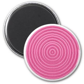 Get into my Pink Circle - Artist Created Pallet Fridge Magnet