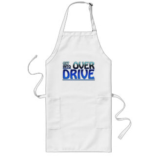 Get Into Overdrive Long Apron
