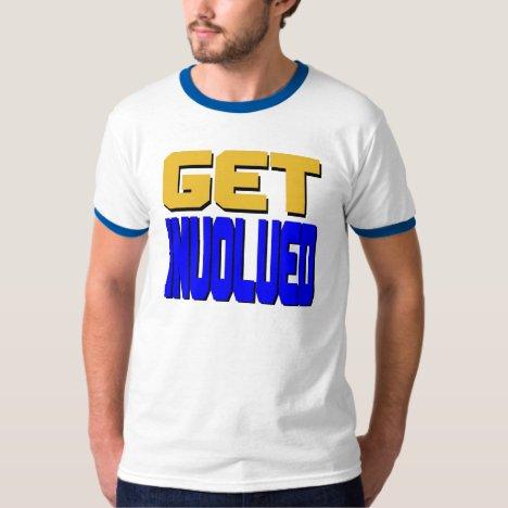 Get Involved (Alt) T-Shirt (Back)