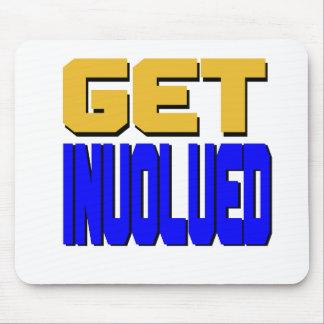 Get Involved Mousepad (horizontal)