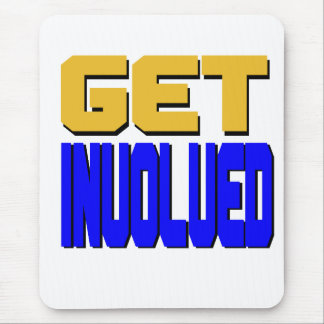 Get Involved Mousepad (vertical)