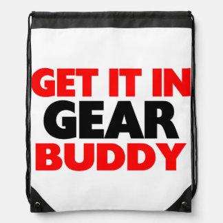 Get It In Gear Buddy Drawstring Backpack