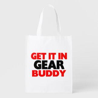 Get It In Gear Buddy Reusable Grocery Bag