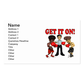 Get It On Business Card