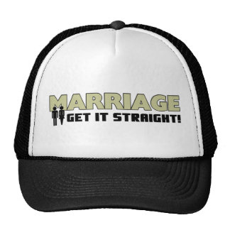 Get It Straight! Trucker Hat