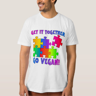 Get It Together Jigsaw Men's Organic T-Shirt