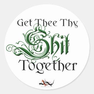 Get It Together Sticker