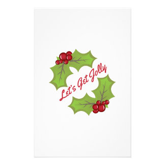 Get Jolly Customized Stationery