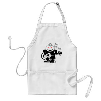 Get Krooked Punk Rocker Adult Apron