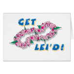 Get Lei'd! (Pink) Greeting Card