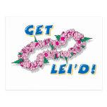 Get Lei'd! (Pink) Postcard