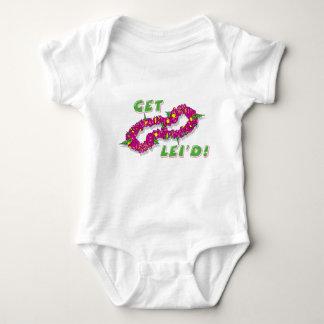 Get Lei'd! (Purple) Baby Bodysuit