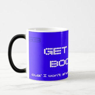 GET LOST BOOZER COFFEE MUG