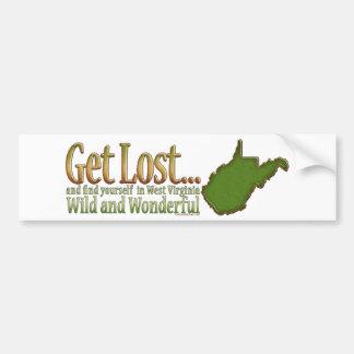 Get Lost...Bumpersticker Car Bumper Sticker