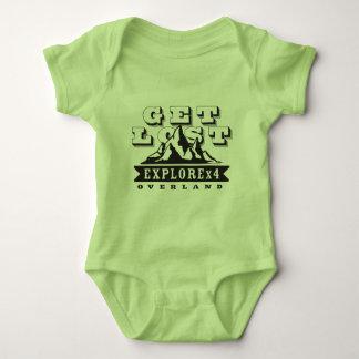 Get Lost ExploreX4 Baby Bodysuit