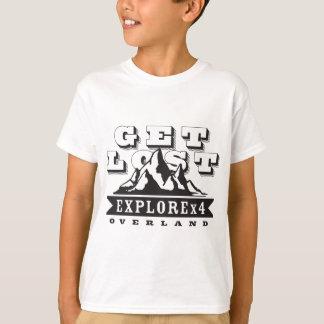 Get Lost ExploreX4 T-Shirt
