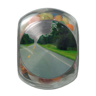 Get Lost Glass Candy Jars