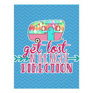 Get Lost In The Right Direction Letterhead