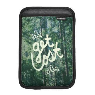 Get Lost iPad Mini Sleeve