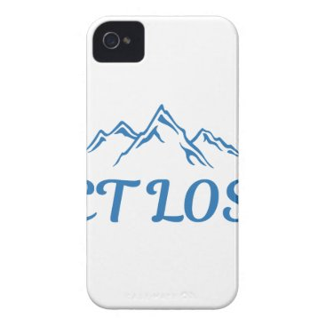 Beach Themed Get Lost iPhone 4 Cover
