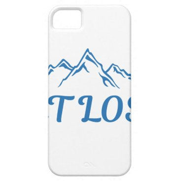 Beach Themed Get Lost iPhone SE/5/5s Case