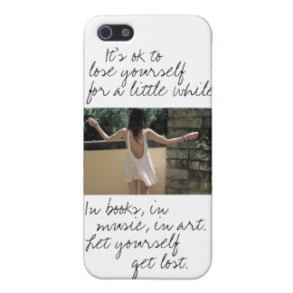 Get Lost iPhone SE/5/5s Cover