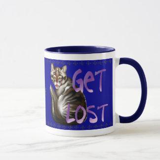 GET LOST  Mug