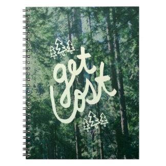Get Lost Notebook