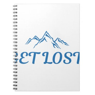Beach Themed Get Lost Notebook