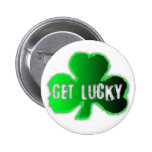 Get Lucky #09 - St Patrick - Button