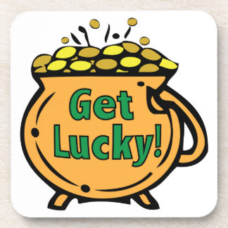 Get Lucky Drink Coaster