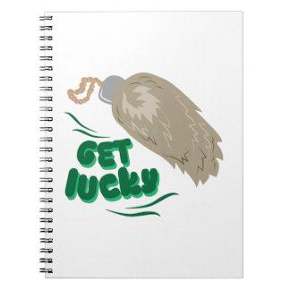 Get Lucky Notebook
