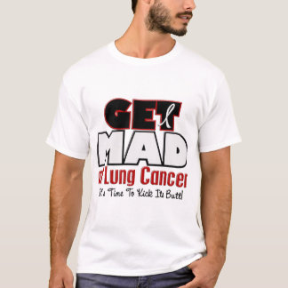Get Mad At Lung Cancer T-Shirt