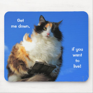 Get Me Down! Mouse Pad