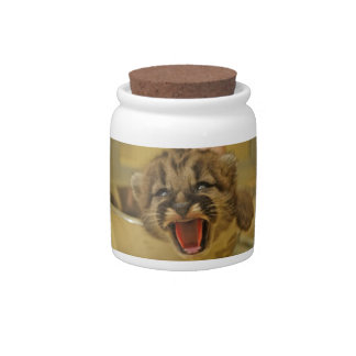 Get Me Out Of Here! Cougar Cub Candy Jar