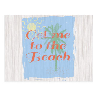 """Get Me to the Beach!"" Postcard"