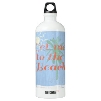 """""""Get Me to the Beach!"""" Water Bottle"""