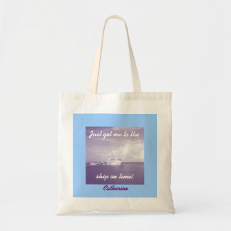 Get Me to the Ship Personalized Tote Bag