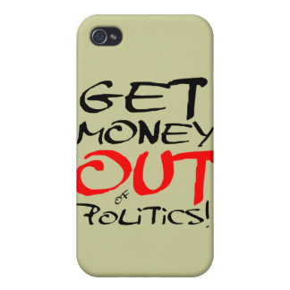 Get Money Out! Cover For iPhone 4