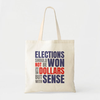 Get Money Out of Politics Tote Bag