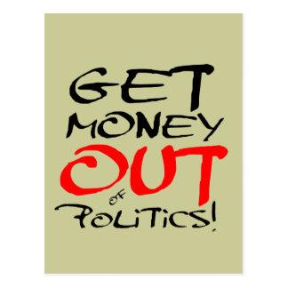 Get Money Out! Postcard