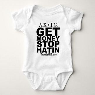 Get Money Stop Hatin' Baby Bodysuit