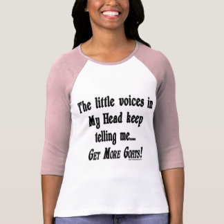 Get More Goats Funny Goat Tshirts