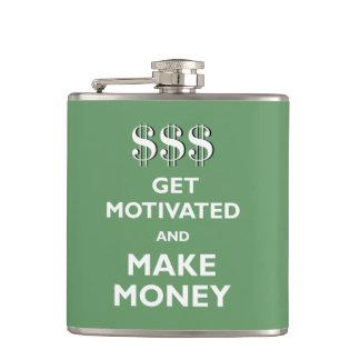 Get Motivated and Make Money Flasks