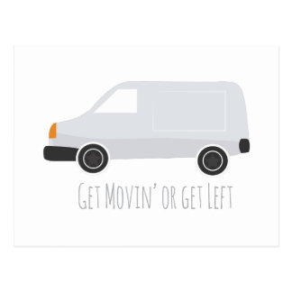 Get Movin Postcard
